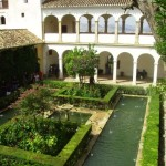 Viajes a Andalucía - Patio del Cipres de la Sultana