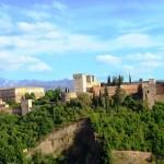 Viajes a Andalucía - Vista de la Alhambra desde el Alcaicín