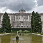 jardines de sabatini en el palacio real