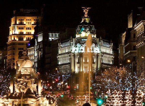Navidad de lujo en España: Madrid