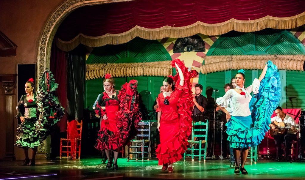 Navidad de lujo en España: fiesta flamenca
