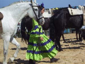 Al Rocío se acude a pie, a caballo o en carreta