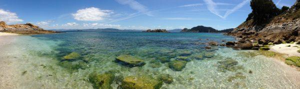 Galicia a través de sus playas con bandera azul