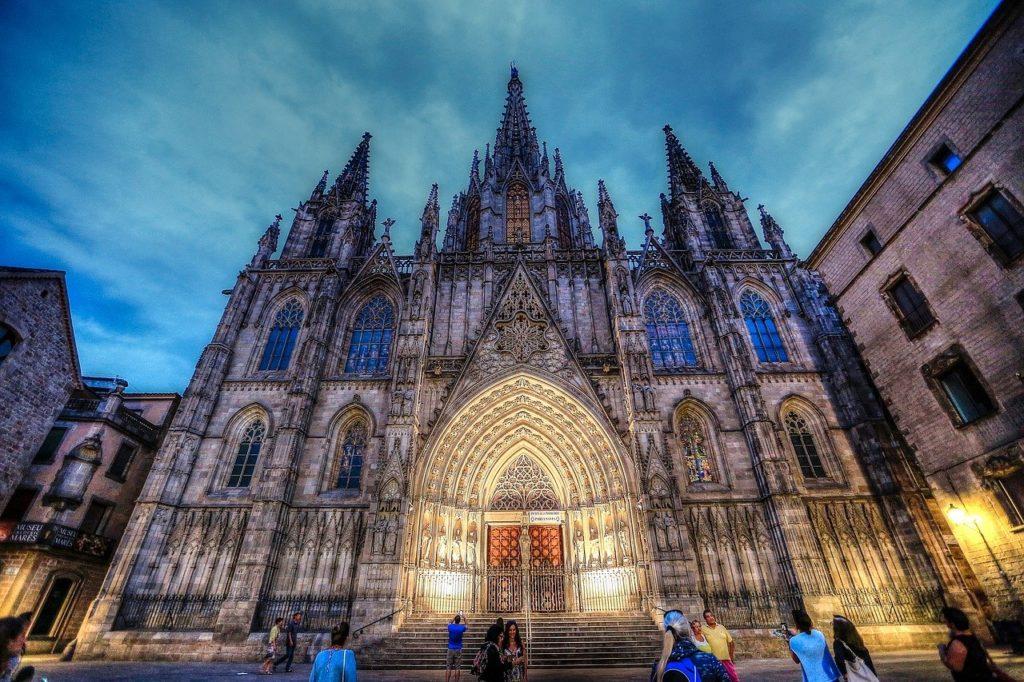 Catedral Barcelona España