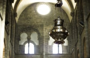botafumeiro en la Catedral de Santiago de Compostela